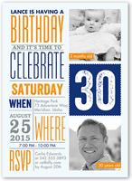 info fun birthday invitation 5x7 flat