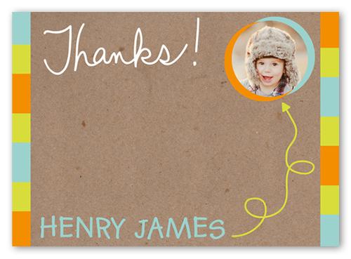 Crafty Scribbles Boy Thank You Card
