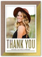 splendid thank you thank you card 5x7 flat