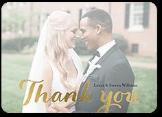 elegant grace thank you card
