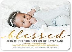 Baptism Invitations Christening Invitations Shutterfly