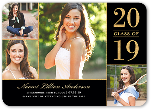 Proudly Captured Graduation Announcement