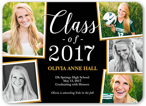 Fantastic Grad Graduation Announcement