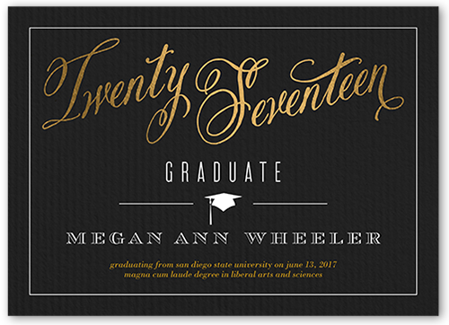 Graduation Cards Announcements – 8th Grade Graduation Invitations