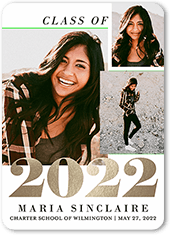 Epic Year Grad Graduation Announcement