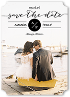 central characters save the date 5x7 flat