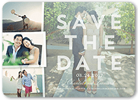 picturesque moments save the date 5x7 flat