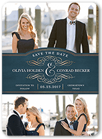 incredible day save the date 5x7 flat