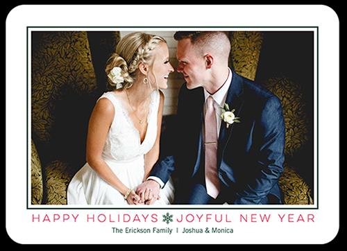 Joyful Family Greeting Holiday Card