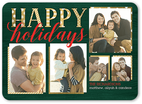 Brown Christmas Photo Cards Shutterfly