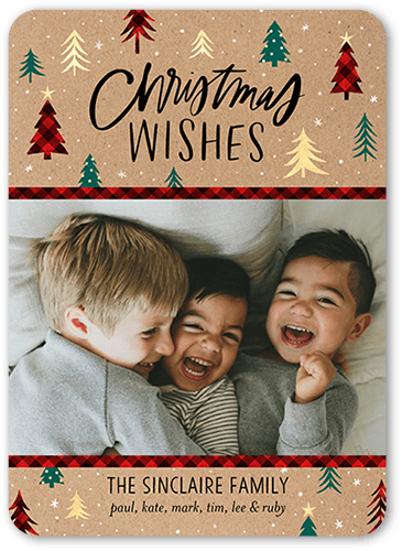 No Photo Christmas Cards Shutterfly