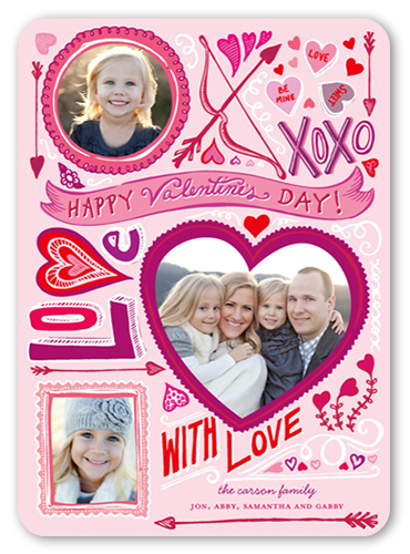 Love Doodles Valentine's Card