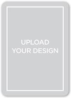 upload your own design wedding announcement 5x7 flat
