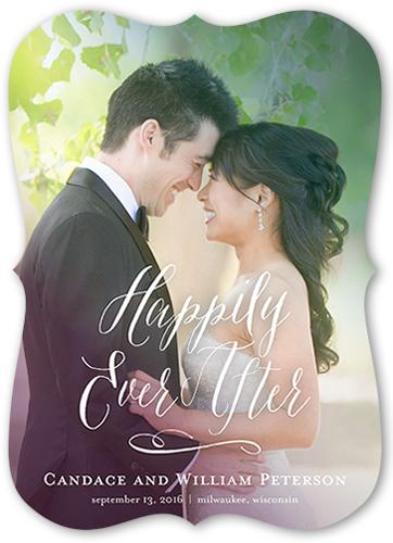 Illuminated Love Wedding Announcement
