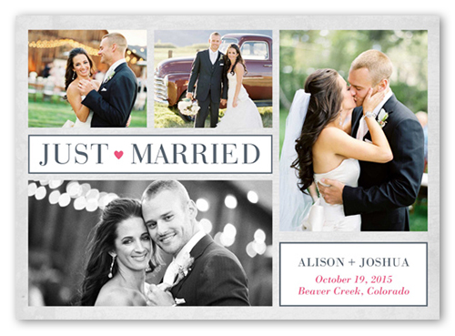 until ever after 5x7 wedding announcement cards shutterfly