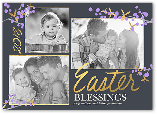 Brilliant Blessings Easter Card