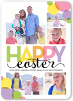 easter bubbles easter card 5x7 flat