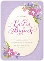 easter blooms easter invitation 5x7 flat