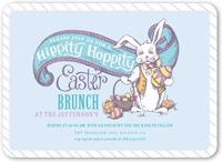 hippity hoppity easter invitation 5x7 flat