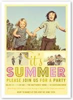 oh so chic summer invitation 5x7 flat
