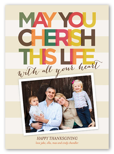 Cherish This Life Fall Greeting