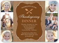 thanksgiving table fall invitation 5x7 flat