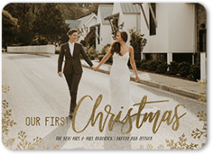 first frost christmas card