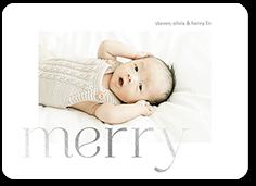graceful calmness christmas card