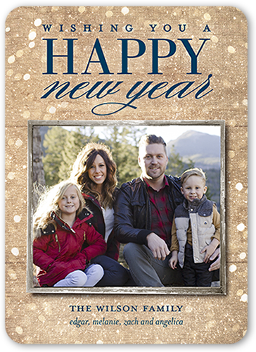 Annual Lights New Year's Card