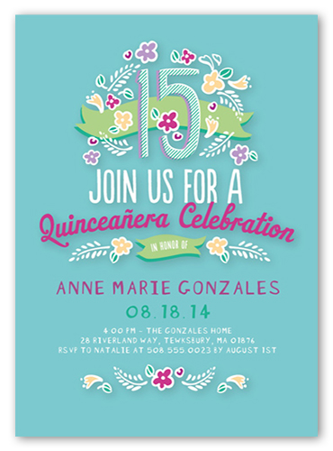 15th birthday invitations shutterfly