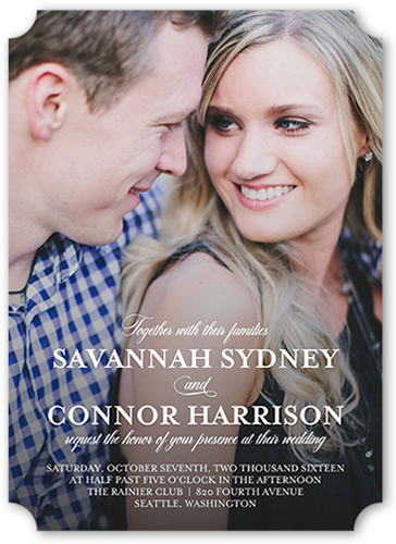 graceful harmony wedding invitation - Shutterfly Wedding Invitations