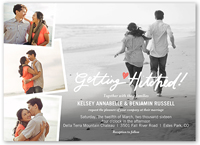 simply forever wedding invitation 5x7 flat