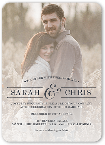 Christmas Save The Dates For Wedding
