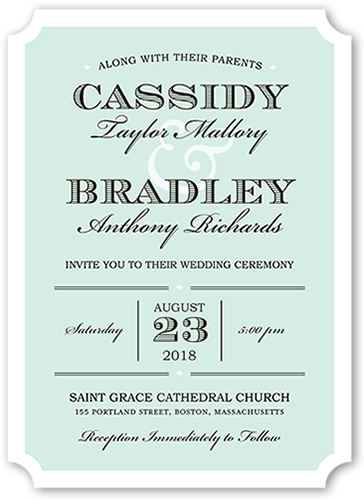 everlasting happiness wedding invitation - Shutterfly Wedding Invitations