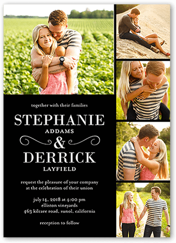 never ending devotion wedding invitation - Shutterfly Wedding Invitations