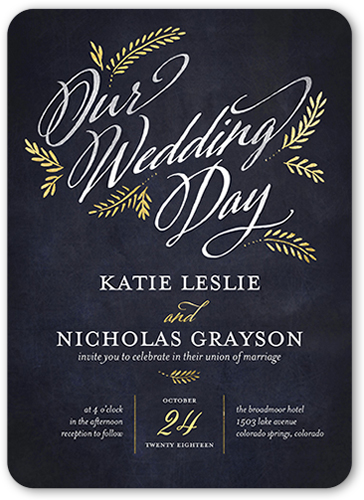 get started soon - Shutterfly Wedding Invitations