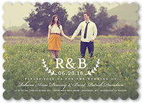rustic wedding invitations shutterfly - Shutterfly Wedding Invitations