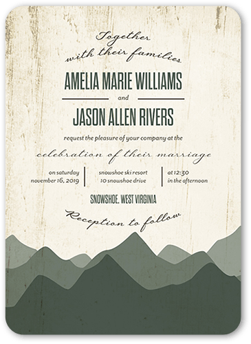 Country Wedding Invitations Shutterfly