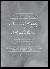 marbled devotion wedding invitation 5x7 flat
