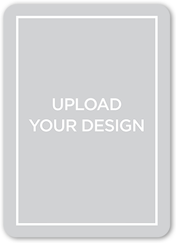 Upload Your Own Design Custom Greeting Card