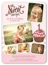 Girl First Birthday Invitations 1st Birthday Invites Shutterfly
