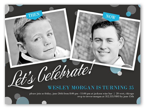 over time surprise birthday party invitation shutterfly