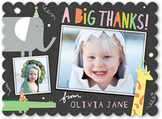 Boy Thank You Cards Shutterfly - Children's birthday thank you notes