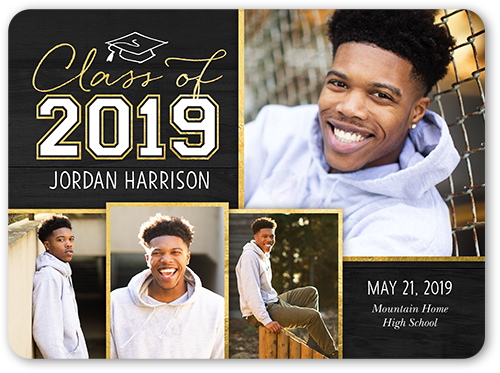Simple Class Year Graduation Announcement