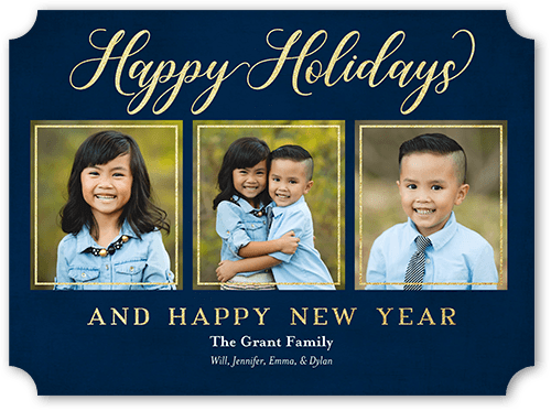 classic cheer holiday card