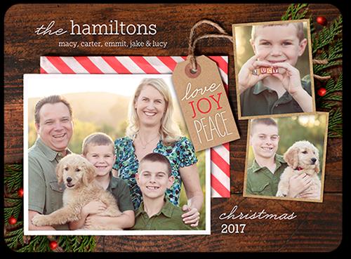 Gifted Joy Christmas Card