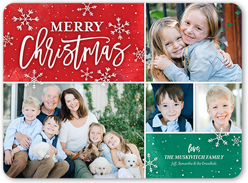 Flurry Christmas Christmas Card