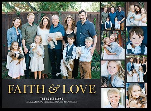 Faithful Gallery Religious Christmas Card