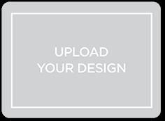 upload your own design custom greeting card 6x8 flat