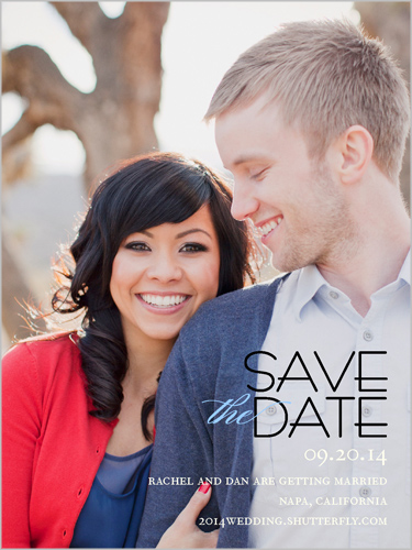 Elegant Date Save The Date